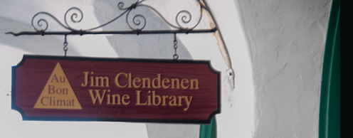 Jim Clendenen Wine Library