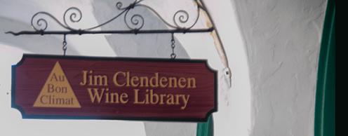 Jim Clendenen Wine Library