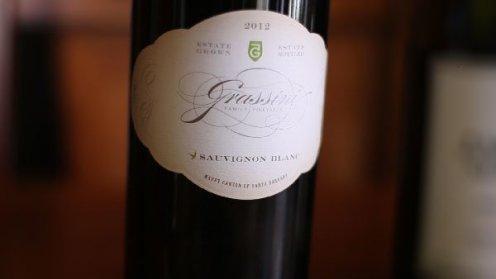 Grassini 2012 Sauvignon Blanc Bottle
