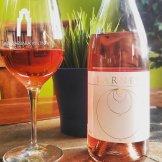 An estate rosé from Larner Vineyard in Santa Barbara's Ballard Canyon that is a GSM blend Rosé