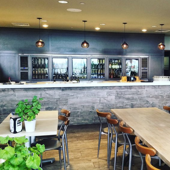Tasting room at Gloria Ferrer Carneros Sonoma County