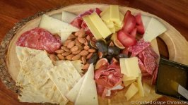 Meat & Cheese platter for pairing with Terret Noir