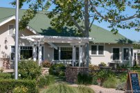 The 1920's Craftsman house that is the Riverbench Tasting Room