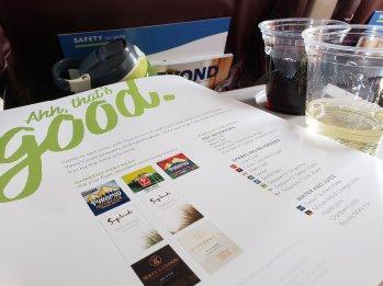 Alaska Air regional wine selections