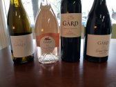 Gard Wines Bottles