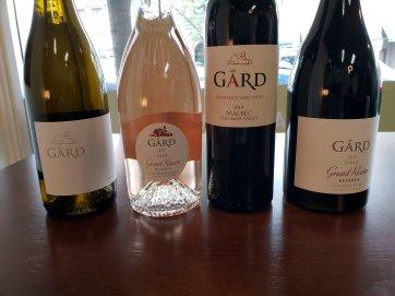 Gard Wines Bottles
