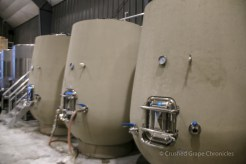 Doubleback Winery concrete eggs
