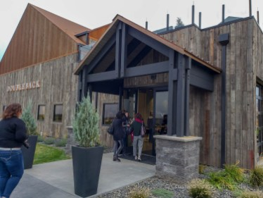 Doubleback Winery rustic with modern elegant finishes
