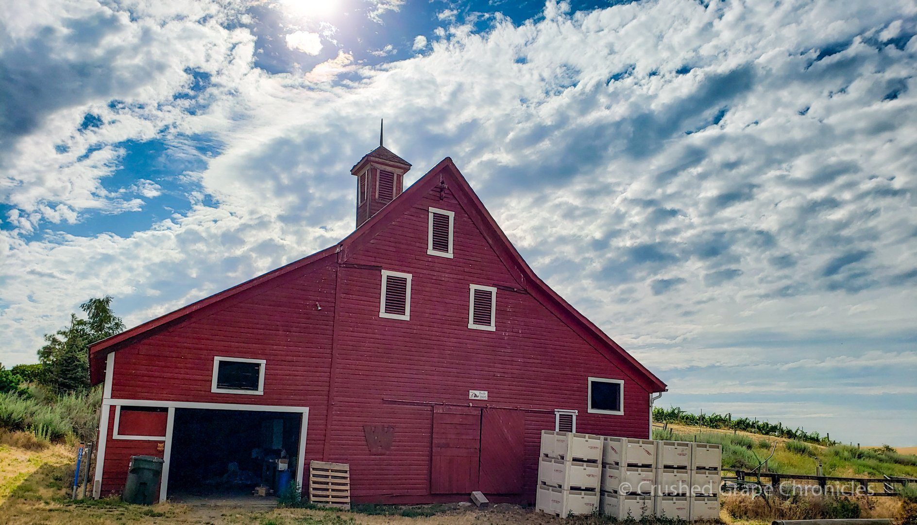 Armstrong's Valley Grove Vineyard Barn Walla Walla Washington