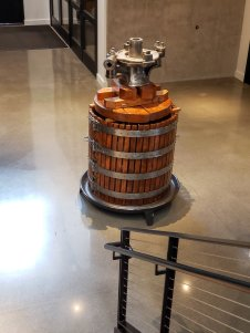 Basket Press at Valdemar Estates in Walla Walla Washington