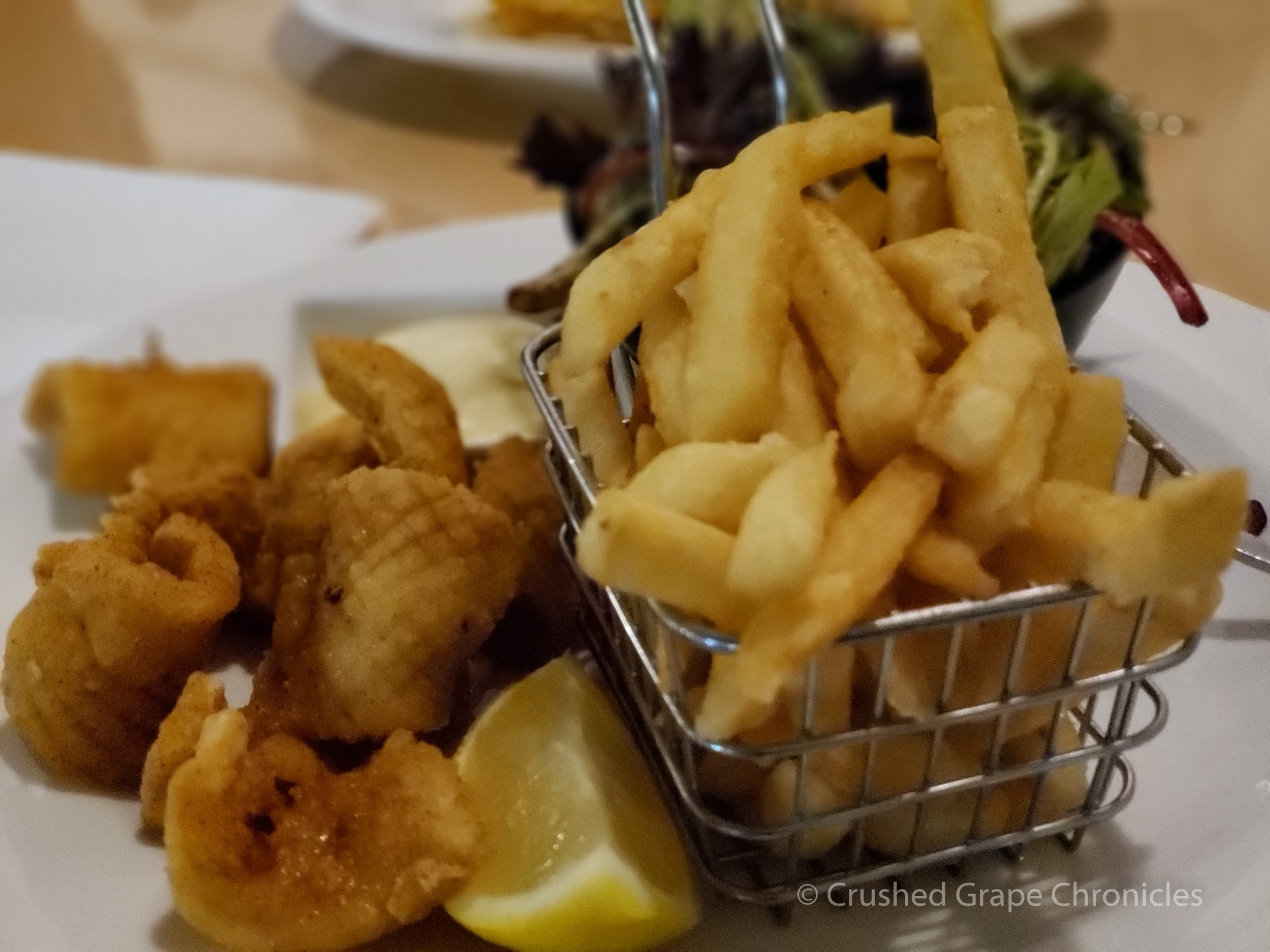 I had the Salt & Pepper Squid at the Red Heifer in Mudgee NSW Australia