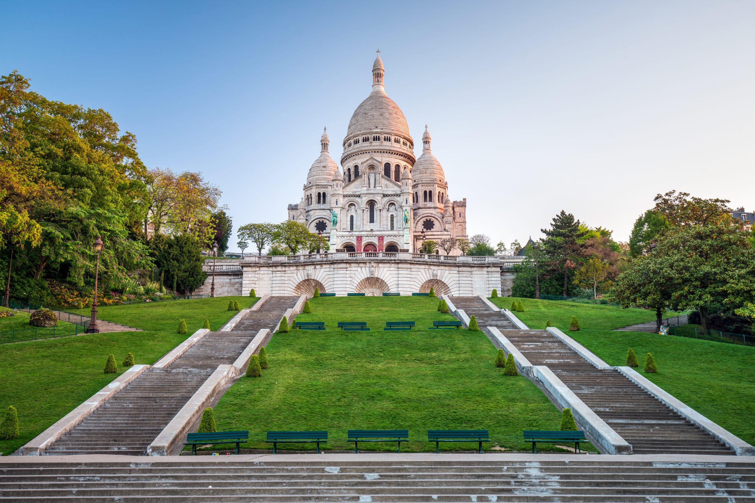 Sacre Coeur de Montmartre in Paris