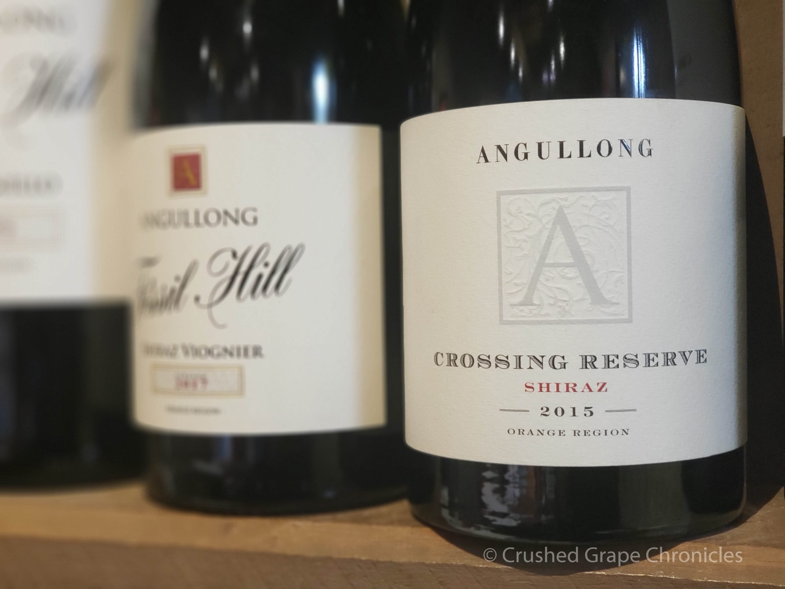 Angullong 2015 Crossing Reserve Shiraz at Angullong Vineyard in Cellar Door in Millthorpe, Orange NSW Australia