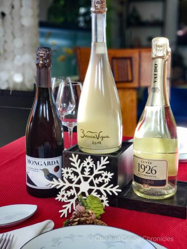 3 Wines from the Conegliano Valdobbiadene Prosecco Superiore DOCG