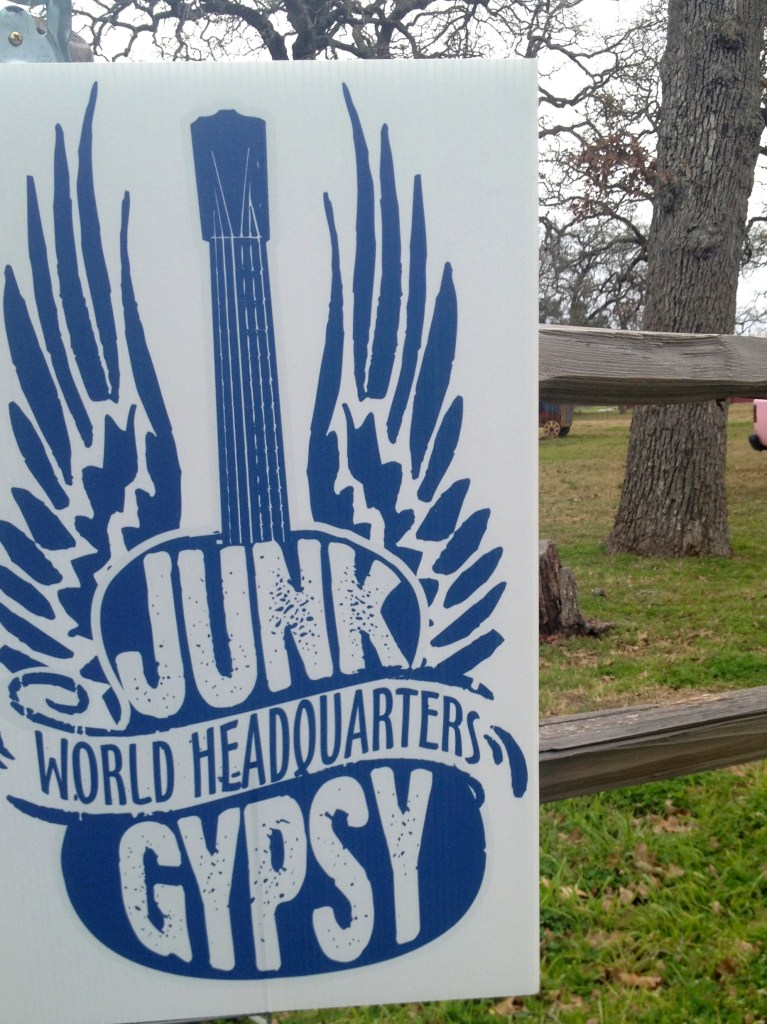 Junk Gypsies Store Sign | Round Top