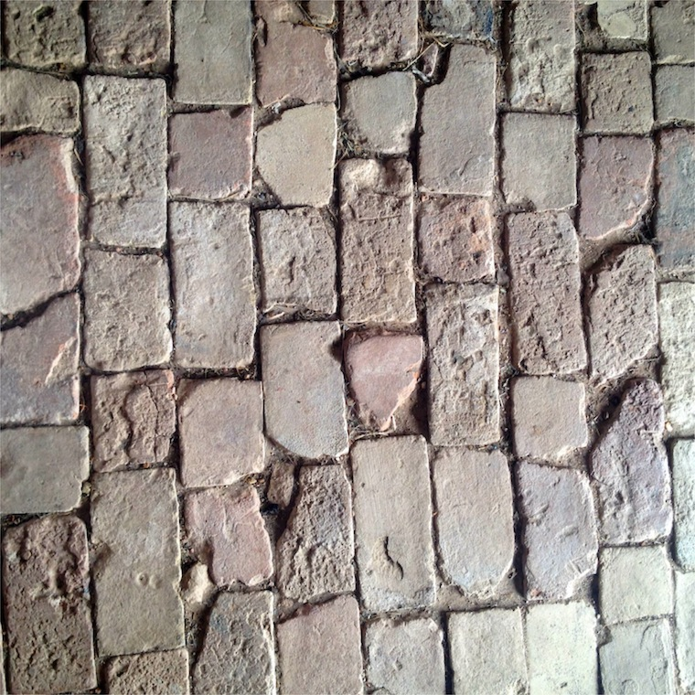 Marburger brick floor