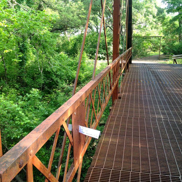 Willow Bridge Note Inward
