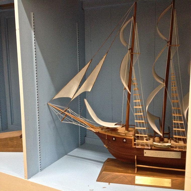 Serbin Boat Model