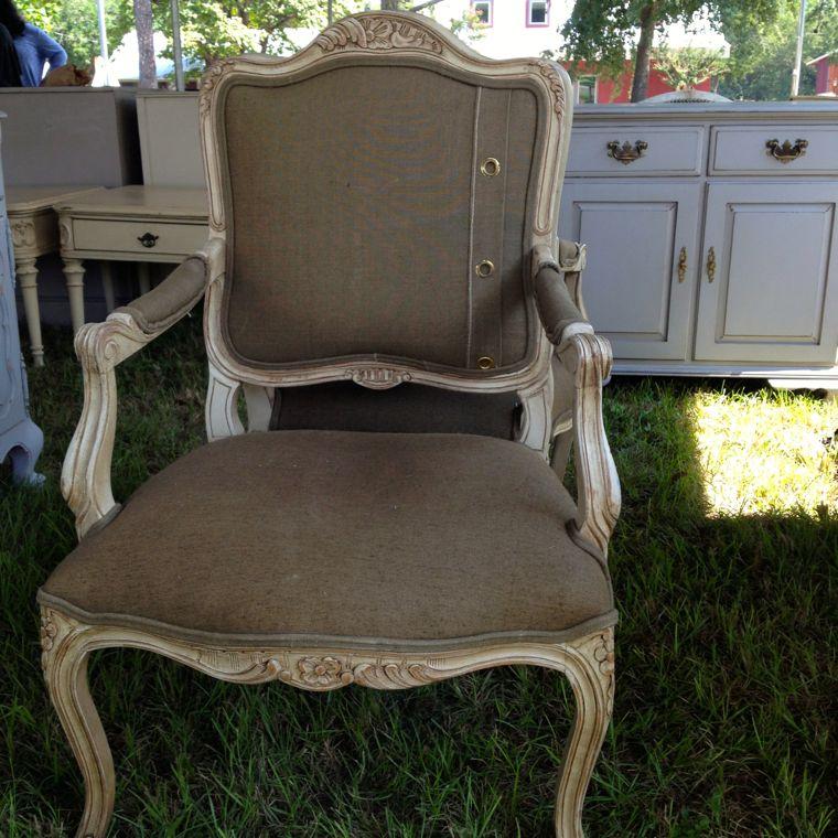 Mel El Army Chair