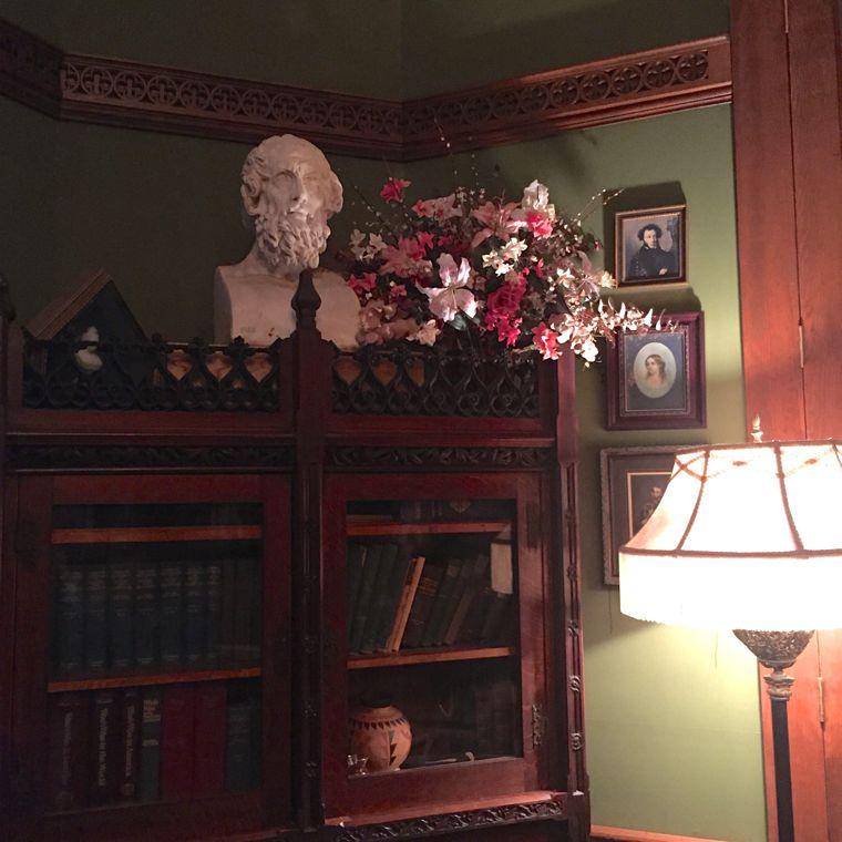 Hidden Festival Bookshelf Bust