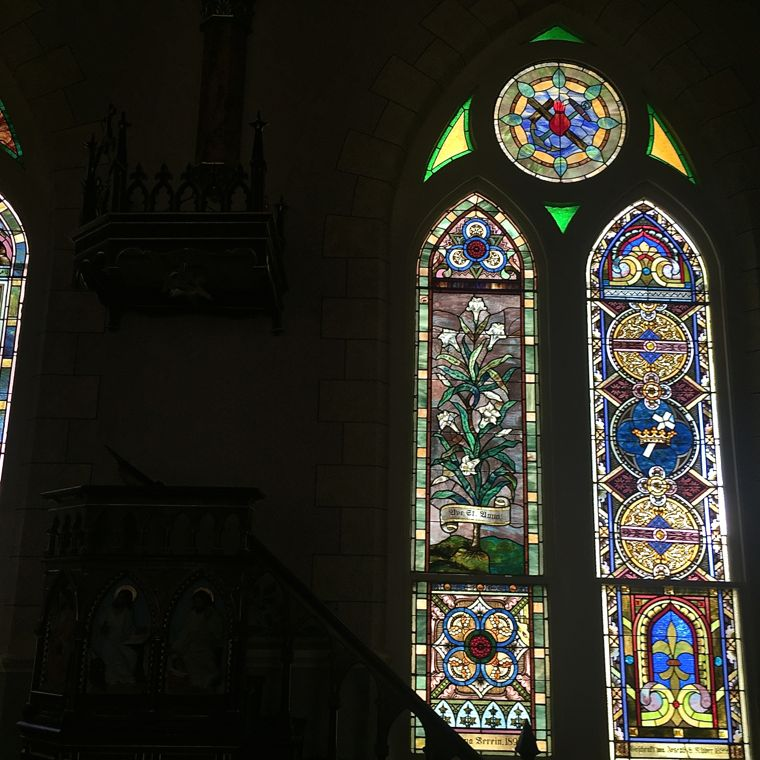 Painted Churches Stained Glass