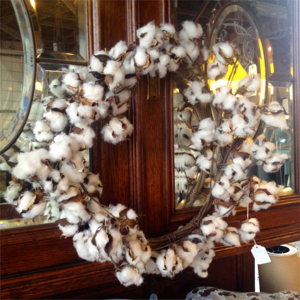 loblolly cotton wreath