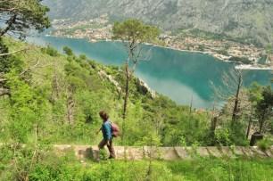 Caminhada em Kotor
