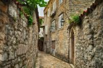 Montenegro: Uma Rua de Budva