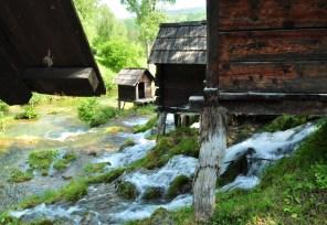 Moinhos de Água perto de Jajce