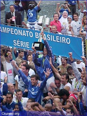 Cruzeiro campeão brasileiro 2003