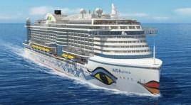 AIDA Cruises anuncia o seu novo navio: AIDAprima