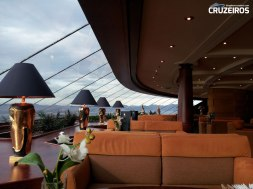 Top Sail Lounge do MSC Yacht Club