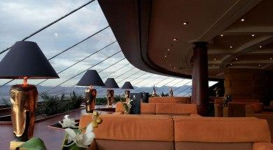 Top Sail Lounge do MSC Yacht Club