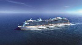 Princess Cruises encomenda dois novos mega-navios movidos a GNL