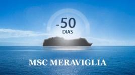 50 dias para o MSC Meraviglia