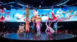 MSC Cruzeiros mostra bastidores do Cirque du Soleil (veja aqui a diferença entre os espetáculos VIAGGIO e SONOR)