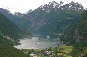 Geirangerfjord, Noruega