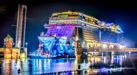 Norwegian Bliss já chegou ao Mar do Norte para os seus testes de mar
