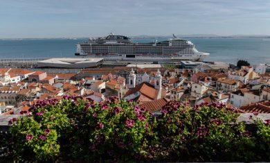 MSC Bellissima em Lisboa   Foto: MSC Cruzeiros