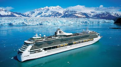 Radiance of the Seas, Alaska.
