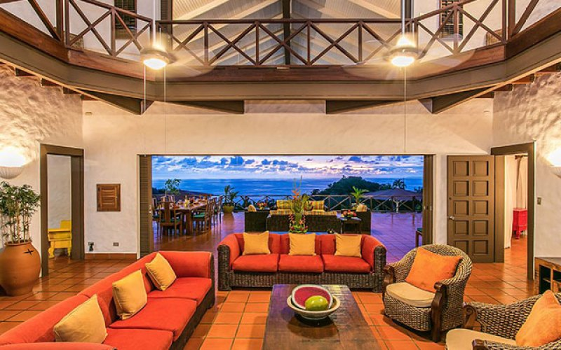Manuel Antonio Vacation Rental VP Private Resort great room