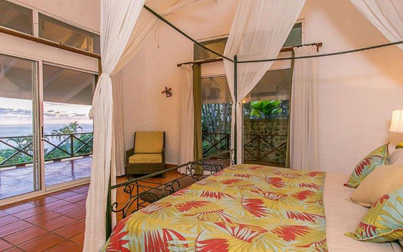Manuel Antonio Vacation Rental VP Private Resort third master bed