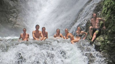 Manuel Antonio Vacation Properties: Vacation Buggy jungle waterfall