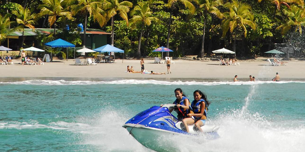 people on jet ski