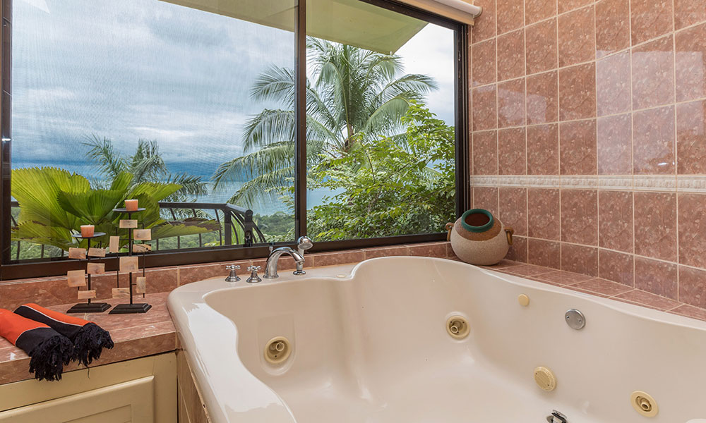Villa del Sol bathroom view