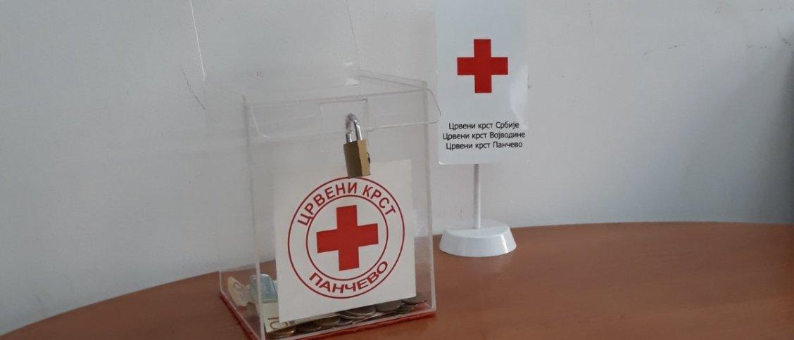 Како помоћи - касица Црвеног крста Панчево