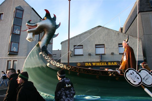 The ship procession