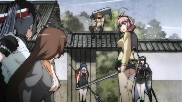 Hyakka Ryouran Samurai Bride 09