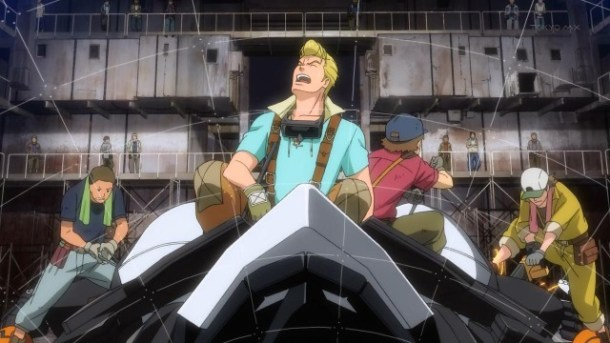 Suisei no Gargantia 07
