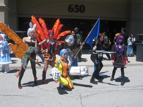 League_of_Legends_-_Group_[Anime_North_2013_Cosplay]